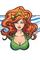 Mera DCnU Headshot2 by RichBernatovech