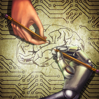 Machines and the human brain by pixieC