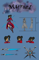GS OCT Character Sheet: Myriel by Pro-roro