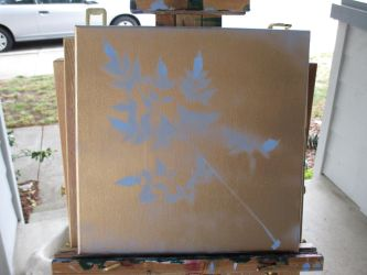 Gold Spray paint try 2 by Mistress-of-Emotions