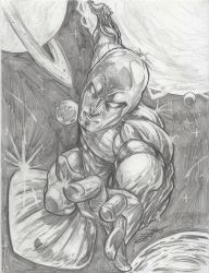 NORRIN RADD THE SILVER SURFER    SOLD! by Dingodile24