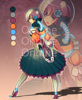 Space Princess Adopt [CLOSED] by LilyOndine