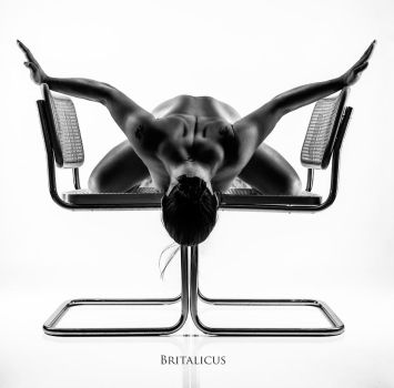 Model with Breuer chairs by Britalicus