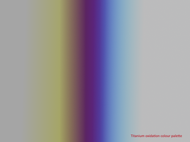 Titanium oxidation colour palette by Anhrak