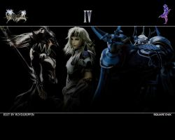 Dissidia 012 Wallpaper IV by RoydGriffin