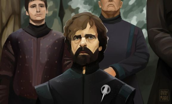 Tyrion Lannister | Game of Thrones fanart by XxInterxX