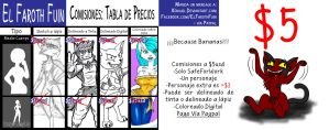 Comisiones 5 Usd by FarothFuin