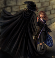 Hermione vs HatnCloak by Mahasim