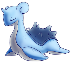 Lapras by LordChatta