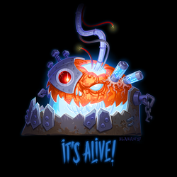 It's alive! by blazan