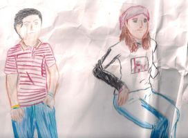 drawing people by knight-alui