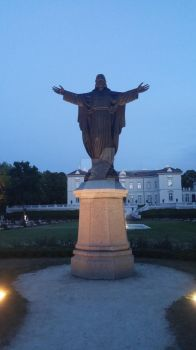 Statue of God (Lithuania) by AmberedTiger