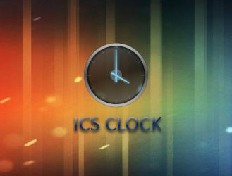 ICS Clock for XWidget by boyzonet