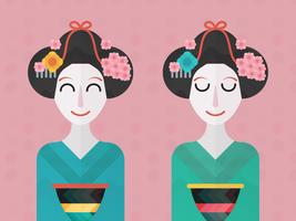 Geishas by apparate
