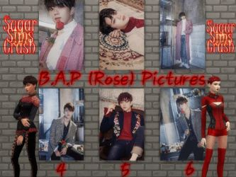 BAP (Rose) Pictures Sims4CC by babygreenlizard