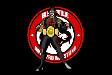 BJPW Heavyweight Champion Black Joker by RWhitney75