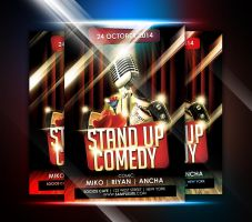 StandUp Comedy Event Flyer by afizs