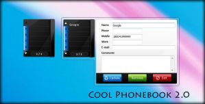 Cool Phonebook 2.0 - Sidebar G by smoinuddin1110