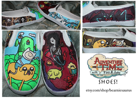 adventure time shoes 4 by nifersaurus