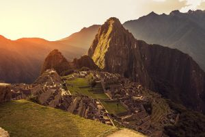 Machu Picchu Sunset by TarJakArt