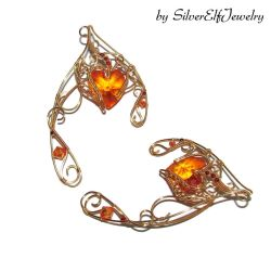 Heart of Fire elf ears by Lyriel-MoonShadow