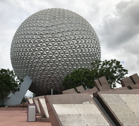 Epcot Spaceship Earth IMG 2567 by TheStockWarehouse