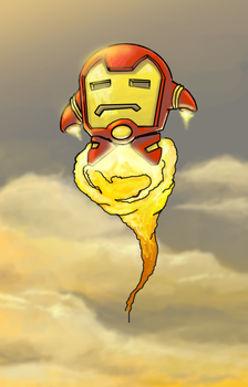 Iron Kirby by soulrailer