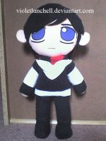 Jared Leto plushie by VioletLunchell