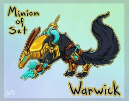 Warwick - Minion of set (custom skin) by bulciks