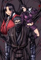 Tenchu 4 - shadows by buuzen