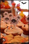 halloween cupcakes by quidditchmom