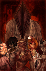 Welcome to Silent Hill by MsColorsplash