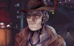 Nick Valentine by the-searching-one