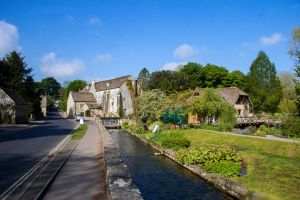 Arlington Mill and Bibury Trout Farm by Daniel-Wales-Images