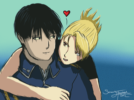 Love You ~ Royai by serenitytouched