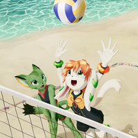 Beachvolley by JT-Metalli