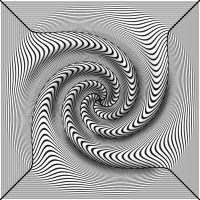 Black-White 3D twist by Trip-Artist