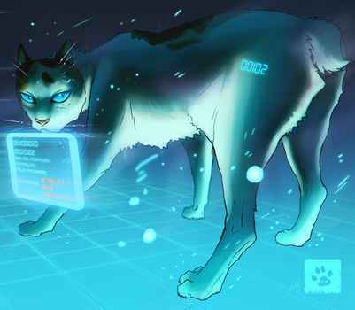 Cyber Bleau by Mikan-no-Tora