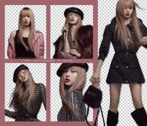 PNG Pack #1 - Lalisa Manoban by tiebomb