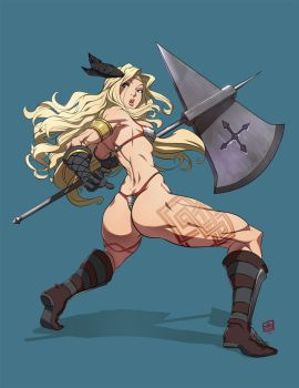 Dragon's Crown Amazon by qiqo