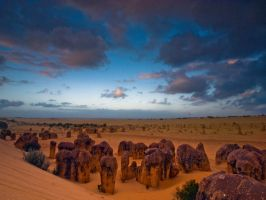 Valley of the Pinnacles by FireflyPhotosAust