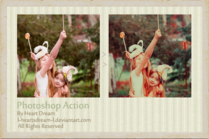 Photoshop Actions 1 by l-Heartsdream-l
