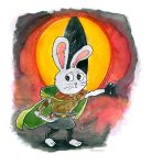 There and Back Rabbit Hobbit by rain-ant