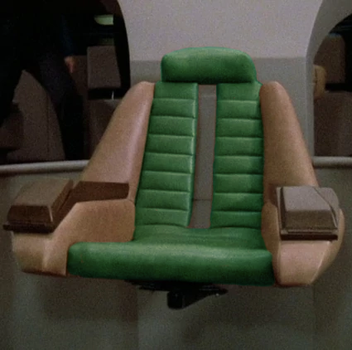 Stargazer Refit Captain's Chair by SpiderTrekfan616