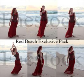 Red Beach Exclusive Pack by faestock
