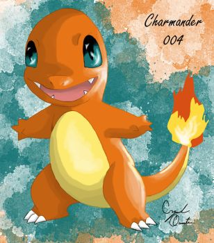 004-Charmander by SexxiMomma