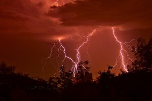Thunderstorm has come by Sulde