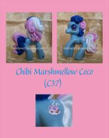 Chibi Marshmellow Coco by NorthernElf