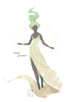 [closed] Adopt - Mint Sorceress by fionadoesadopts
