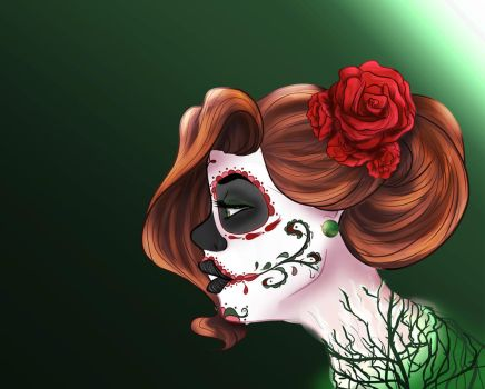 La Muerta by SweetSketching